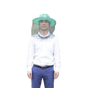 LLIN Long Lasting Insects Head Nets Head Mesh Mosquito Hat Net