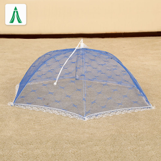 Round Picnic Large Decorative Outdoor Pop Up Folding Mesh Table Food Cover