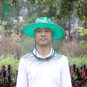 Outdoor Camping Durable Full Cover Face Protect Mosquito Head Net