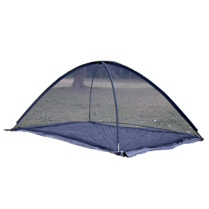 Double Fiber Pole Automatically Pops Up Four Corners To Fix Mosquito Net Tent
