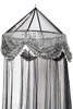 Sequins Mosquito NET Elegant Bed Canopy Set Ideal for Indoors Or Outdoors Romantic Accent for Bedroom
