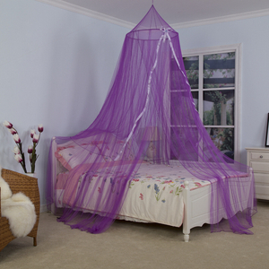 Custom Design Children Princess Baby Bed Canopy Curtain Round Top Dome Hanging Mosquito Net Cover for Bedding Room