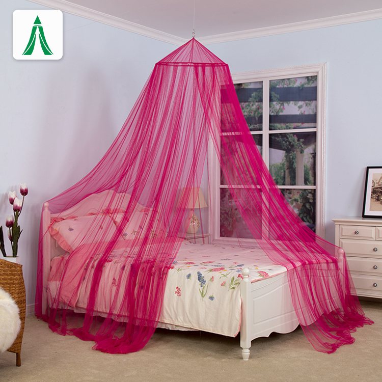 100% Polyester Round Circular Mosquito Net for Double Or Single Bed