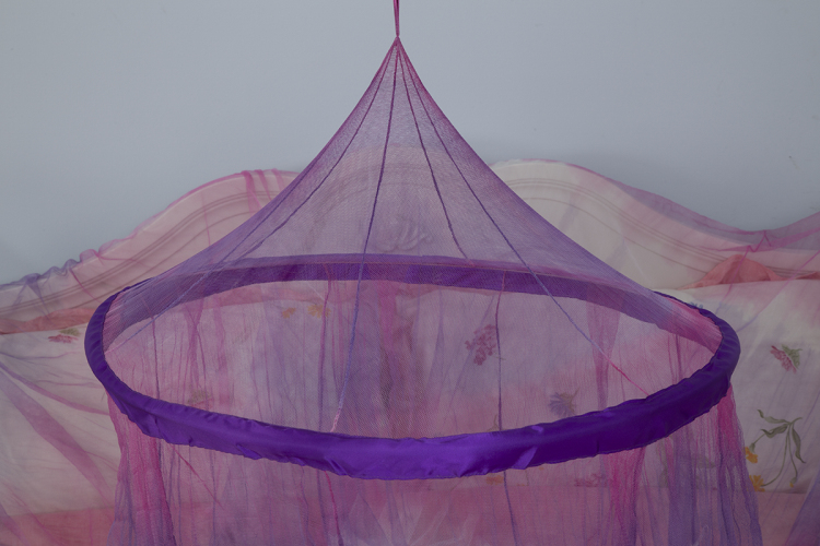 Latest Design Mosquito Nets Bed Circular Shape Hanging Bed Canopy