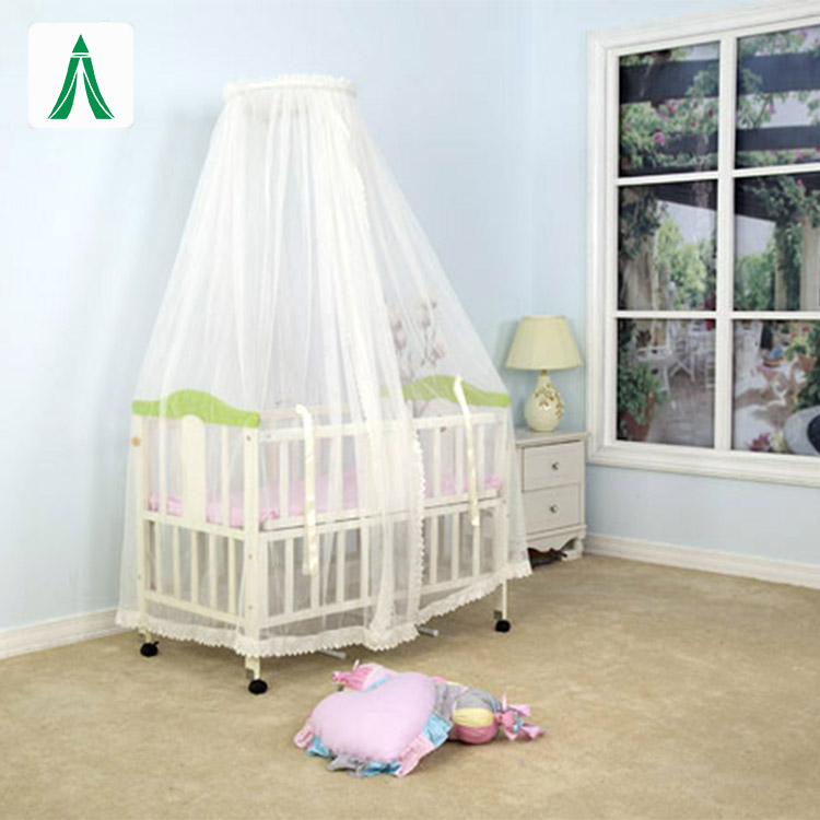 Umbrella baby cot playpen mosquito net stand for baby bassinet bed