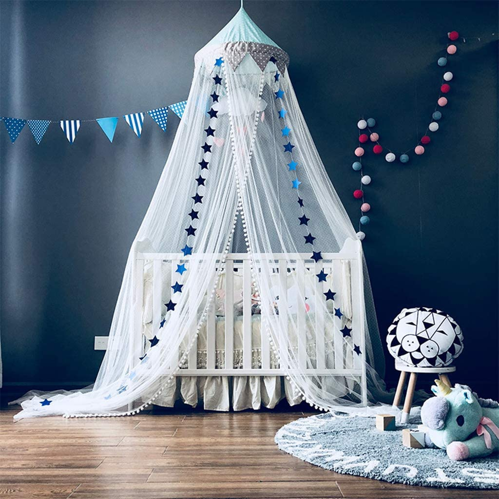 Hot Selling Product Girls Kids Hanging Bed Canopy Crib Decor Mosquito Nets