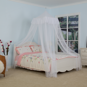White Rectangular Canopy High Quality Elegant Bedmosquito Net