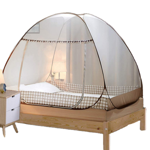 Portable Travel Mosquito Net Foldable Single Door Mosquito Camping Curtain Easy Dome Mosquito Nets
