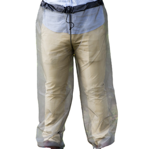 Insert treated mosquito net outdoor pants with mitts camping
