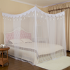 Luxurious Hanging Ear Multi-door 100% Polyester Rectangular Shape Bed Netting King Queen Size Hanging Mosquito Net For Adults