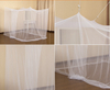 2020 Top Selling Four Corner Easy Installation White Hanging Mosquito Net
