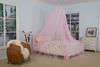 Hot Sales Good Quality Princess Style Pink Ribbon Umbrella Mosquito Net Bed