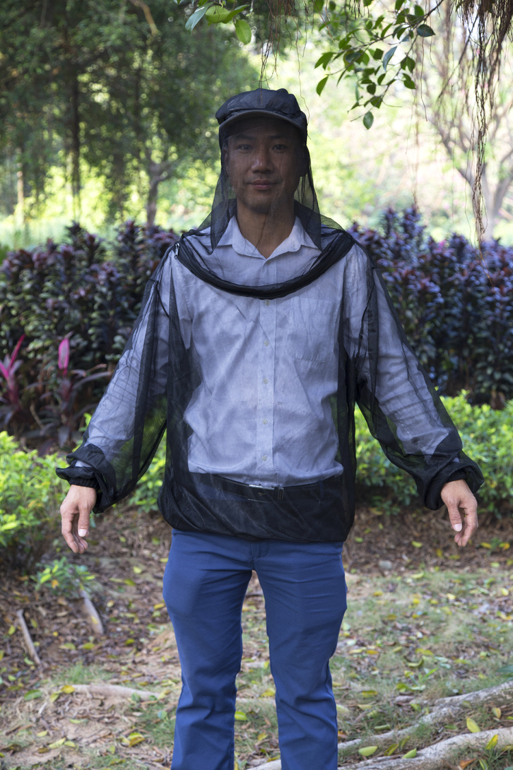 Low Price Outdoor Anti-insects Jacket Camping Mosquito Body Suits