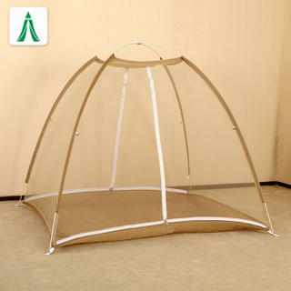 2020 Comfortable Free-standing Single Door Camping Curtain Easy Dome Mosquito Nets