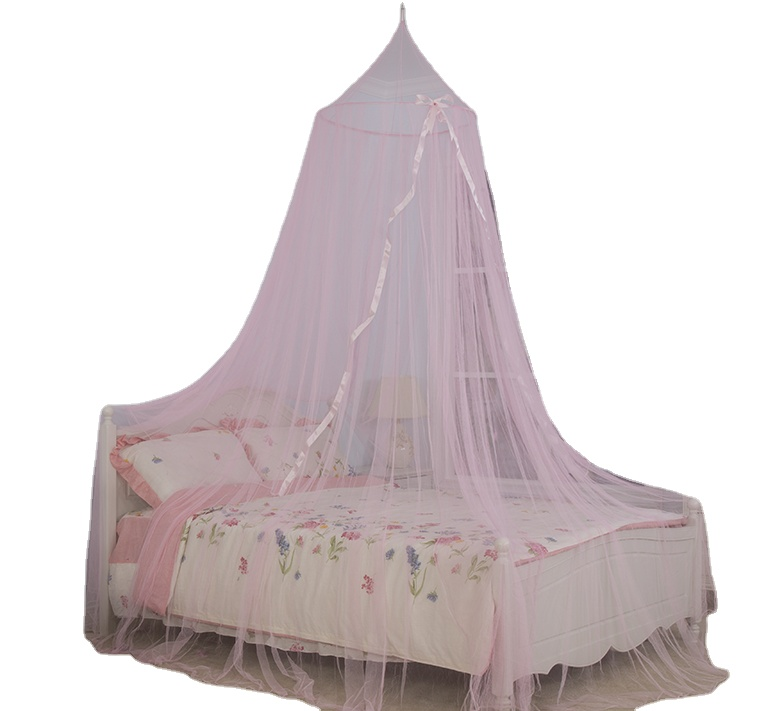 2020 New Style 100% Polyester Princess Canopy for Girl Bed