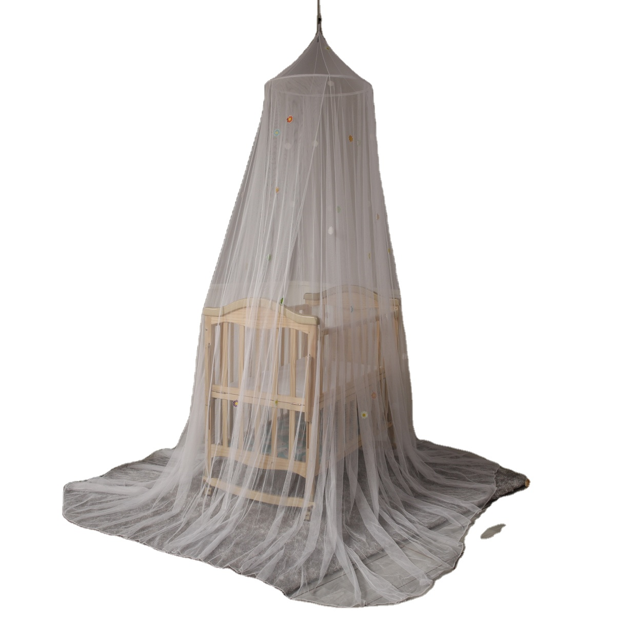 Folding Hanging Growing In The Dark Daisy Baby Mosquito Net Crib Net