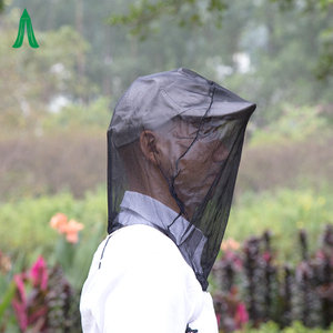Insect Polyester Durable Camping Black Mosquito Head Net