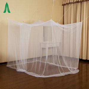 Rectangular Large Hanging Indoor White Home Box Net Adult Types Of Mosquito Net