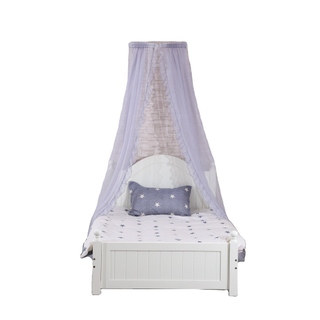 Latest Design Crown Top Bedside Canopies Elegant Mosquito Nets Curtain