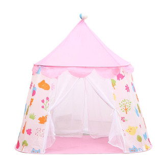 Children's Tent Princess Castle Play House Easy To Install Indoor Toys