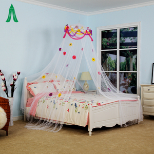 Wholesale Designer Bed White Color Mosquito Netting Folding Mosquito Net