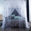 Nordic Princess Wind Leaf Printing 1.5, 1.8, 2m Bed Square Mosquito Net