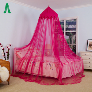 Princess Crown Curtains Bed Canopy Girls Favourite Mosquito Canopy Bed Net