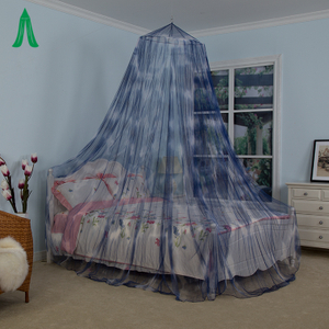 Girls Romantic Conical Hanging Bed Mosquito Net Bed Canopy