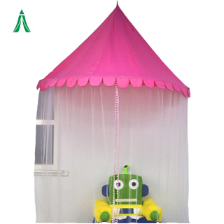 Girls Mosquito Nets Bed Canopy Compact Hanging Canopy Tent for Kids